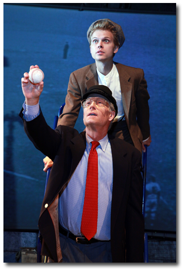 Ernie and The Kid in Mitch Albom's play Ernie