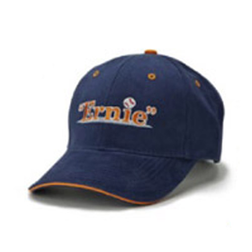 Ernie the Play Logo Navy Baseball Cap